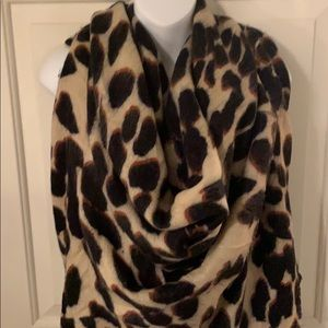 Charming Charlie Extra Large Leopard Blanket Scarf